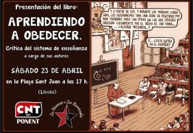 """[Lleida] """"Aprendiendo a obedecer"""" en el Sant Jordi Llibertari"""
