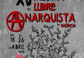 XV Mostra del Llibre Anarquista de Valéncia