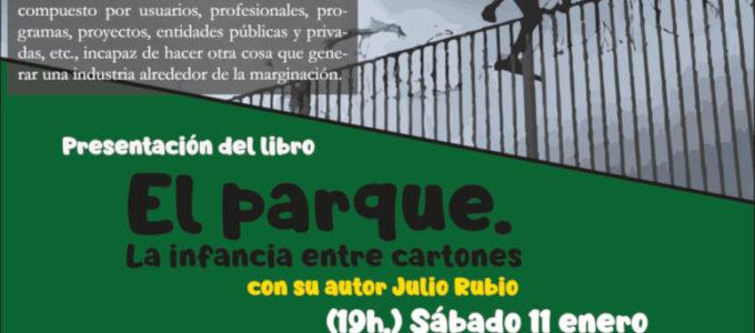 """[11Enero] Presentación de """"El parque. La infancia entre cartones"""" en Santander"""